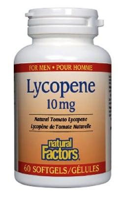 Lycopene 10 mg 60 capsules Natural Factors / Ликопен 10 мг. 60 капсули Натурал Факторс
