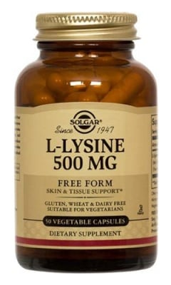 L - Lysine 500 mg 50 capsules Solgar / L - Лизин 500 мг. 50 капсули Солгар