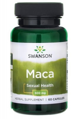 Swanson Maca 500 mg 60 capsules / Суонсън Мака 500 мг. 60 капсули