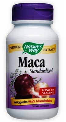 Maca 450 mg. 60 capsules Nature's Way / Мака 450 мг. 60 капсули Nature's Way