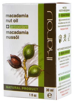 Ikarov Macadamia oil 30 ml. / Икаров Масло от макадамия 30 мл.