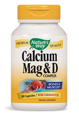 Calcium Magnesium Vitamin D 100 capsules Nature's Way / Калций Магнезий Витамин Д 100 капсули Nature's Way