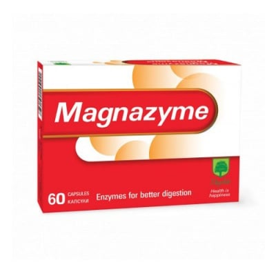 Magnalabs Magnazyme 60 capsules / Магналабс Магназайм 60 капсули