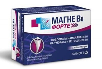 Magne B6 Forte 30 tablets / Магне В6 Форте 30 таблетки