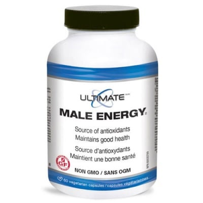 Ultimate Male Energy 60 capsules Natural Factors / Ултимат мейл енерджи 60 капсули Натурал Факторс