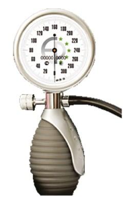 Pressure gauge + pumf for mechanical device for blood pressure Europharma / Манометър + помпа за механичен апарат за кръвно налягане Еурофарма