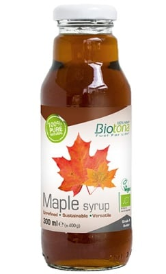 Biotоna Maple syrup 300 ml. / Биотона Био кленов сироп клас А 300 мл.