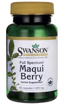 Swanson Maqui berry full spectrum 400 mg 60 capsules / Суонсън Макуй бери фул спектрум 400 мг. 60 капсули
