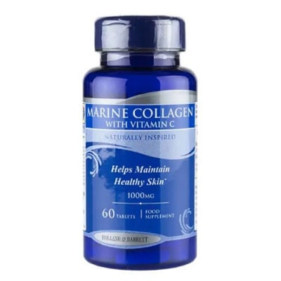 Marine Collagen with Vitamin C 1000 mg 60 tablets Holland & Barrett / Морски Колаген с Витамин Ц 1000 мг. 60 таблетки Holland & Barrett