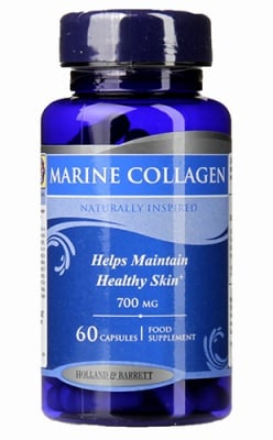 Marine collagen 700 mg 60 capsules Holland & Barrett / Морски колаген 700 мг. 60 капсули Holland & Barrett