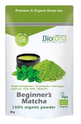 Biotоna Beginner's matcha 90 g / Биотона Био чай Матча за начинаещи 90 гр.