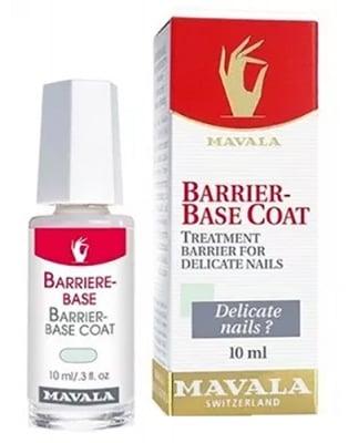 Mavala barrier-base coat 10 ml / Мавала защитна основа за чувствителни нокти 10 мл.