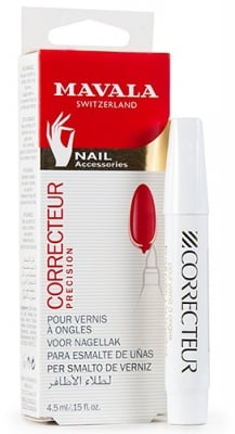 Mavala corrector for nail polish 4.5 ml / Мавала коректор - маркер за лак за нокти с лакочистител 4.5 мл.