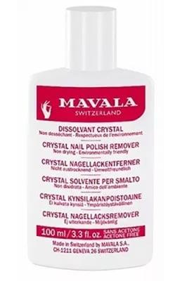 Mavala crystal nail polish remover 100 ml / Мавала лакочистител Кристал без Ацетон 100 мл