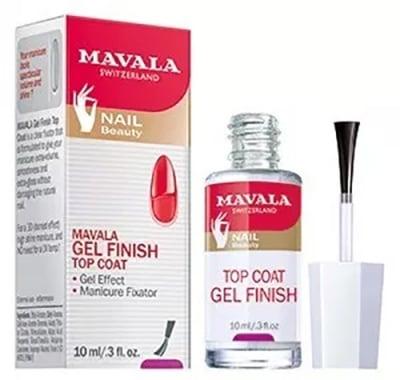 Mavala gel finish top coat 10 ml / Мавала завършващ топ гел 10 мл.