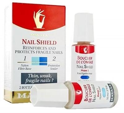 Mavala nail shield 10 ml / Мавала защита за слаби нокти в 2 фази по 10 мл.