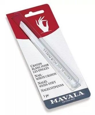 Mavala nail white crayon / Мавала бял молив за нокти