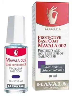 Mavala protective base coat 10 ml / Мавала защитна основа за нокти 002 с двойно действие 10 мл