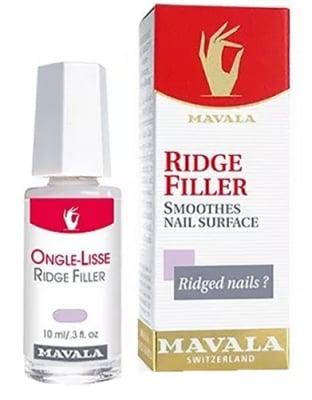 Mavala ridge filler smoothes nail surface 10 ml / Мавала изравнител за набраздени нокти 10 мл.