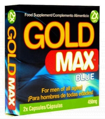 Gold max blue 2 capsules / Голд макс блу 2 капсули