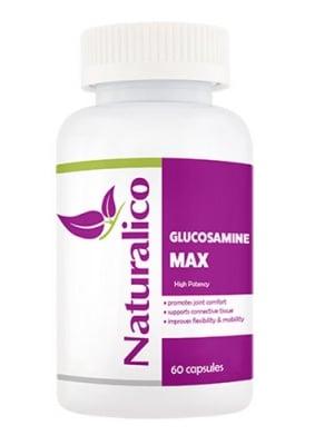 Naturalico glucosamine max 60 capsules / Натуралико Глюкозамин макс 60 капсули