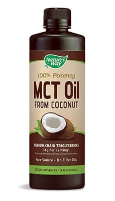 Coconut oil MCT 480 ml Nature's Way / Кокосово масло МСТ 480 мл. Nature's Way