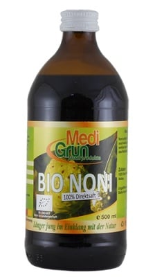 Medi Grun Bio noni 500 ml / Меди Грюн био сок от Нони 500 мл.