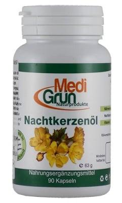 Medi Grun evening primrose oil 500 mg 90 capsules / Меди Грюн Масло от Вечерна иглика 500 мг 90 капсули