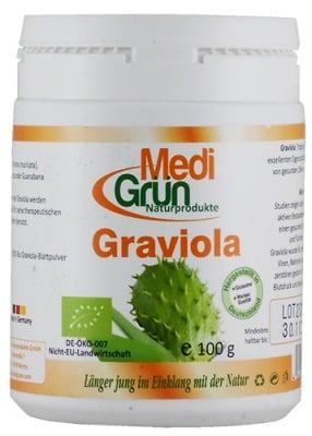 Medi Grun Graviola 100 g / Меди Грюн БИО Гравиола на прах 100 гр.