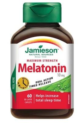 Jamieson Melatonin 10 mg 60 tablets / Джеймисън Мелатонин 10 мг. 60 таблетки