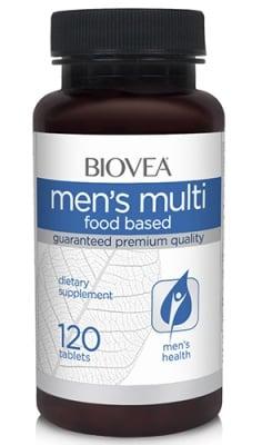 Biovea Men`s multi 120 tablets / Биовеа Мултивитамини за мъже 120 таблетки