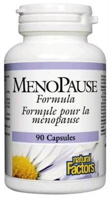 Menopause formula 90 capsules Natural Factors / Менопауза формула 90 капсули Натурал Факторс