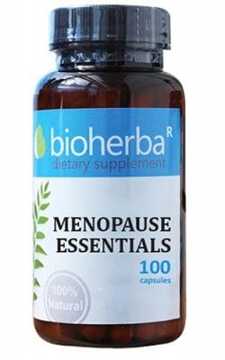 Bioherba menopause essentials 100 capsules / Биохерба Билкова формула при Менопауза 100 капсули