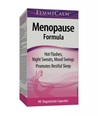 Menopause formula 90 capsules Webber Naturals / Менопауза формула 90 капсули Уебър Натуралс