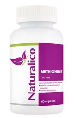 Naturalico Methionine 60 capsules / Натуралико L-метионин 60 капсули