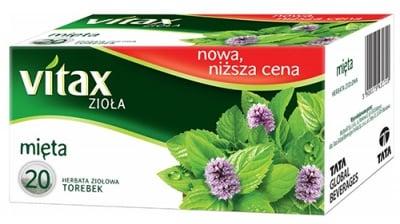 Vitax tea Mint 20 filter packets / Витакс чай Мента 20 филтърни пакетчета
