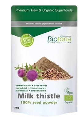 Biotоna Milk thistle 200 g / Биотона Био бял трън 200 гр.