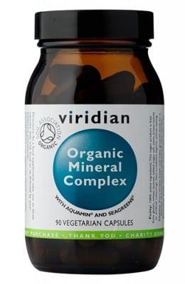 Organic mineral complex 90 capsules Viridian / Органичен минерален комплекс 90 капсули Виридиан