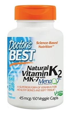 Doctor's Best Vitamin К2 МК - 7 45 mcg 60 capsules / Доктор'с Бест Витамин К2 МК - 7 45 мкг. 60 капсули