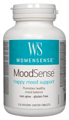 Moodsense happy mood support 133 mg 120 tablets Natural Factors / Муудсенс Добро настроение 133 мг. 120 таблетки Натурал Факторс