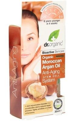 Dr. Organic Moroccan Argan Oil Anti-aging system 30 ml. / Др. Органик Арган Анти-ейдж система 30 мл.