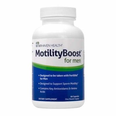 Motility Boost  for men 60 capsules Fairhaven Health / Мотилити Бууст за мъже 60 капсули Fairhaven Health