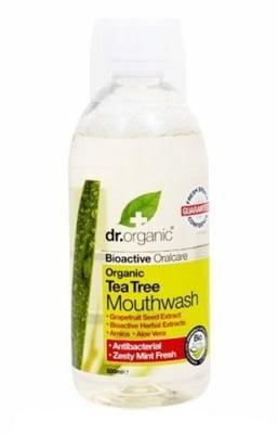 Dr. Organic Tea tree Mouthwash 500 ml. / Др. Органик Чаено дърво Вода за уста 500 мл.