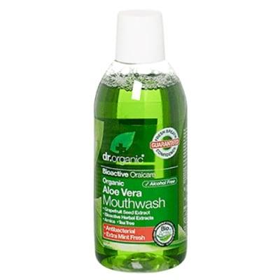 Dr. Organic Aloe Vera Mouthwash 500 ml. / Др. Органик Алое Вера Вода за уста 500 мл.