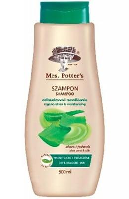 Mrs Potters`s Shampoo dry hair with aloe vera 500 ml. / Мисис Потърс шампоан за суха коса с Алое Вера 500 мл.