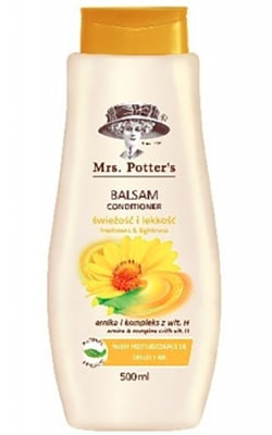 Mrs Potters`s conditioner with arnica 500 ml. / Мисис Потърс балсам за мазна коса с арника 500 мл.