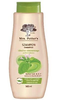 Mrs Potters`s shampoo melissa 500 ml / Мисис Потърс шампоан за комбинирана коса с маточина 500 мл.