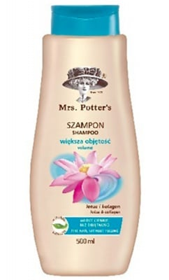 Mrs Potters`s Shampoo volume 500 ml. / Мисис Потърс шампоан за обем с лотос 500 мл.