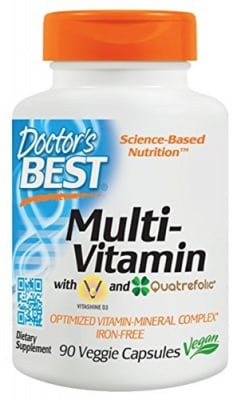 Doctor's Best Multivitamin 90 capsules / Доктор'с Бест Мултивитамини 90 капсули