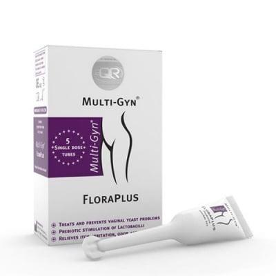 Bioclin Multi-Gyn FloraPlus 5 ml x 5 pcs. / Биоклин Мулти Гин Вагинален гел срещу повтарящи се гъбични инфекции 5 броя x 5 мл.